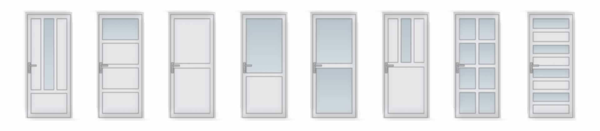 Mögliche Muster Der Türen